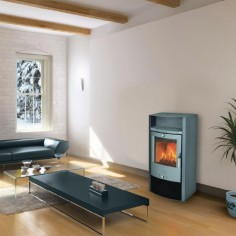 Kachlová kamna Fireplace