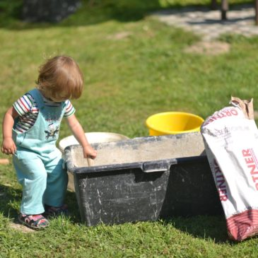 Stavba venkovní pece na chleba